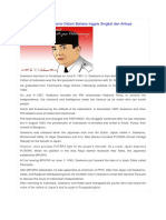 Biographical Recount Ir Soekarno