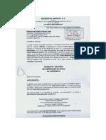 INCONFORMIDAD contralor estatal de su personal con sello