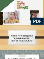 Media pembelajaran Aqidah Akhlak Terpuji Taat Ikhlas santun dan Kasih sayang