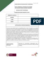 Plan de Estudios Proyecto Centro