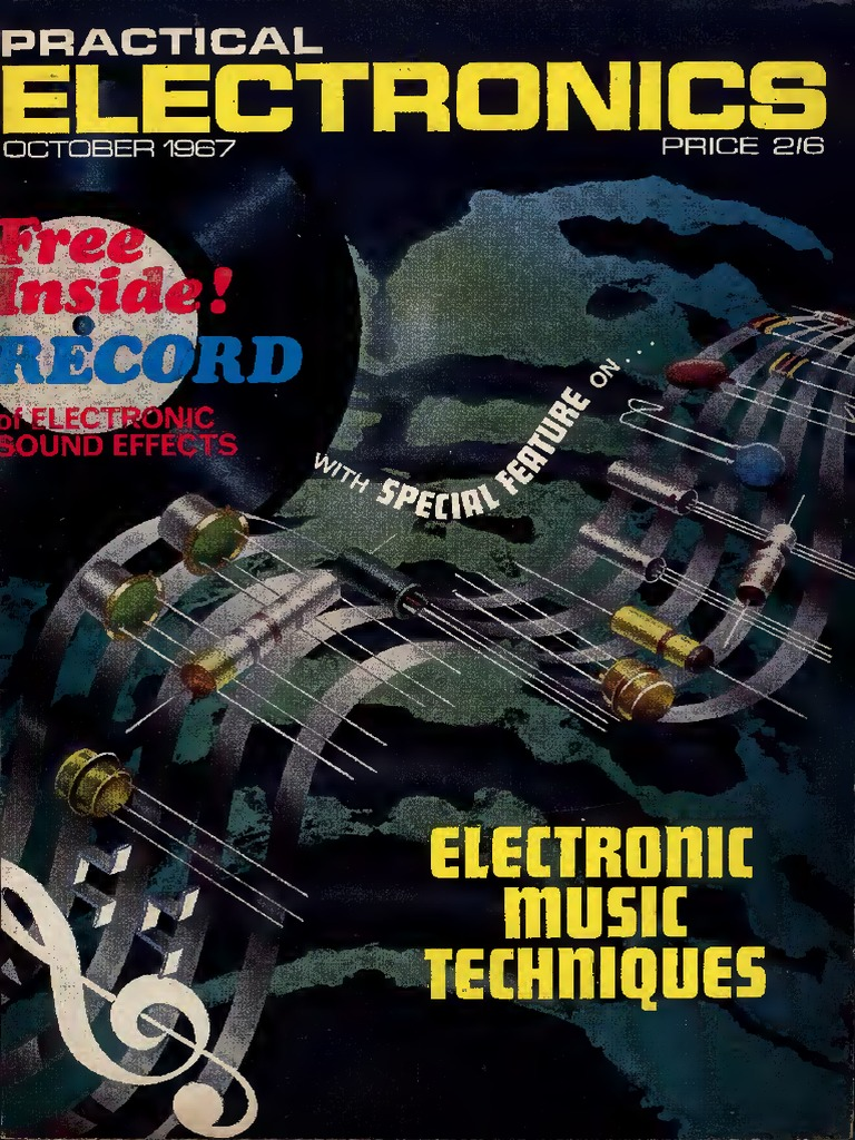 Practical Electronics Magazine Various Issues 1967