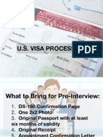 Us Visa Processing
