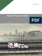 Reporte Financiero 2018