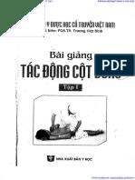 BAI GIANG TAC DONG COT SONG T1 - Truong Viet Binh.pdf