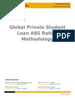 KBRA ABS_ Global Private Student Loan ABS Rating Methodology