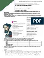 Plan de Apoyo Español Tercer Periodo