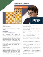 A Carlsen vs Aronian