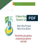 Educacion Cooperativa Cortez Mora