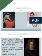historia Las reformas borbónicas
