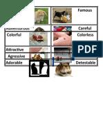 Superlative of Long Adjectives Activity