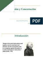 Colusión y Concertación