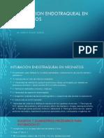 Intubacion Endotraqueal en Neonatos y Adultos