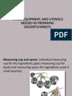 Dessert Presentation1
