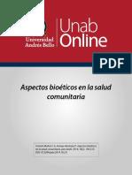 aspectos bioeticos en salud comumnitaria