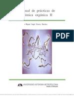Manual de prácticas de química orgánica II (GARCÍA Miguel A.)