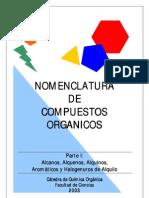 Nomenclatura de Compuestos Organicos 1