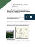 Estudio y Localización de Ruta o Carretera Brenda