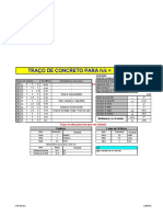 PLANILHA CALCULO TRAÇO CONCRETO