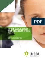 Informe Sobre El Estado de La Educacion en Uruguay Sintesis y Desafios