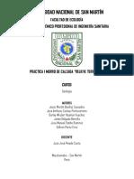 Geología i Informe