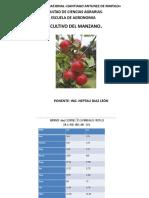 Cultivo de La Manzana