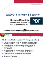 WQD7010 L2 Symmetric Encryption