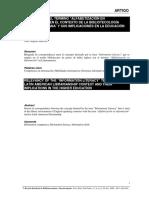 Artículo Noel Pertinencia Del Término Alfabetización en Información en El Contexto de La