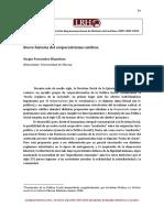 Sergio Fernandez Riquelme. Corporativismo Catolico. La Razon Historica, Nº 11, 2010