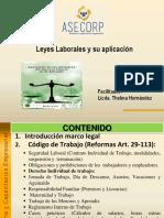 Legislacion Laboral en El Salvador Presentacion1