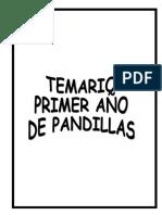 TEMARIO 1er. AÑO - PANDILLAS.doc