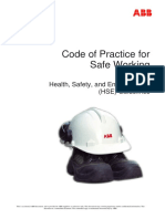 GENERAL SAFETY CODE OF CONDUCT