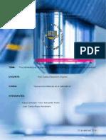Procedimientos de Transporte, Acondicionamiento y Conservacion de Muestras