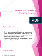 Homeostasis, Estrés y Termorregulación (1)