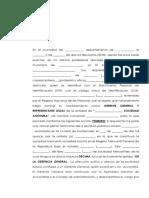 Acta Notarial de Nombramiento de Representante Legal - Modelo Derecho Mercantil 1 (2)