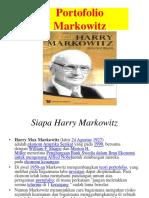 7. Portofolio Markowitz