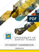 UST Student Handbook 2018 Final Copy