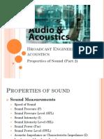 Sound Measurements