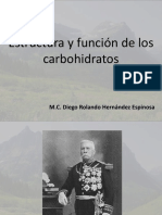 Estructura y Funcion de Carbohidratos