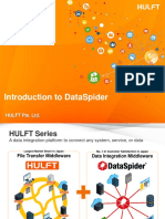 Introduction to DataSpider ENG 201908B2 With Usecases