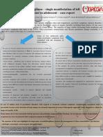 Psychiatric Symptoms – Single Manifestation Glioma of Left Thalamus Case Study