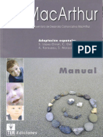 MacArthur - Manual