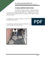 ANALISIS GRANULOMETRICO SIMPLIFICADO