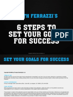6 Steps to Set Your Goals for Success - Refocus Your Life Goals and Your Career Goals Today
