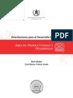 8. ODEC (Primero Básico) Produc. y Des