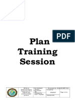 Plan Training Session1