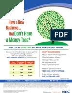 New Business Program Flyer