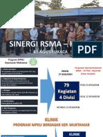 181114 Sinergi RSMA - Klinik Untuk Akreditasi Klinik