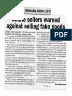 Peoples Journal, Oct. 2, 2019, Online sellers warned against selling fake goods.pdf