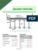 2. PCI Girder 50 m