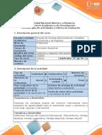 Guía de Actividades y Rubrica de Evaluacion - Fase 1 - Elección Del Producto y Desarrollo Inicial de La Exportación